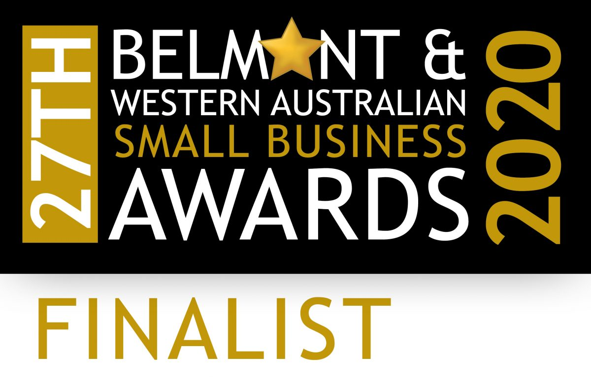 Belmont and Western Australian Small Business Awards FINALIST 2020