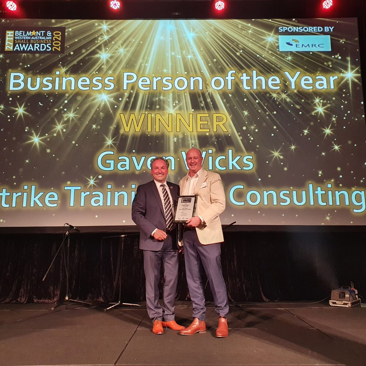 Business Person of the Year!