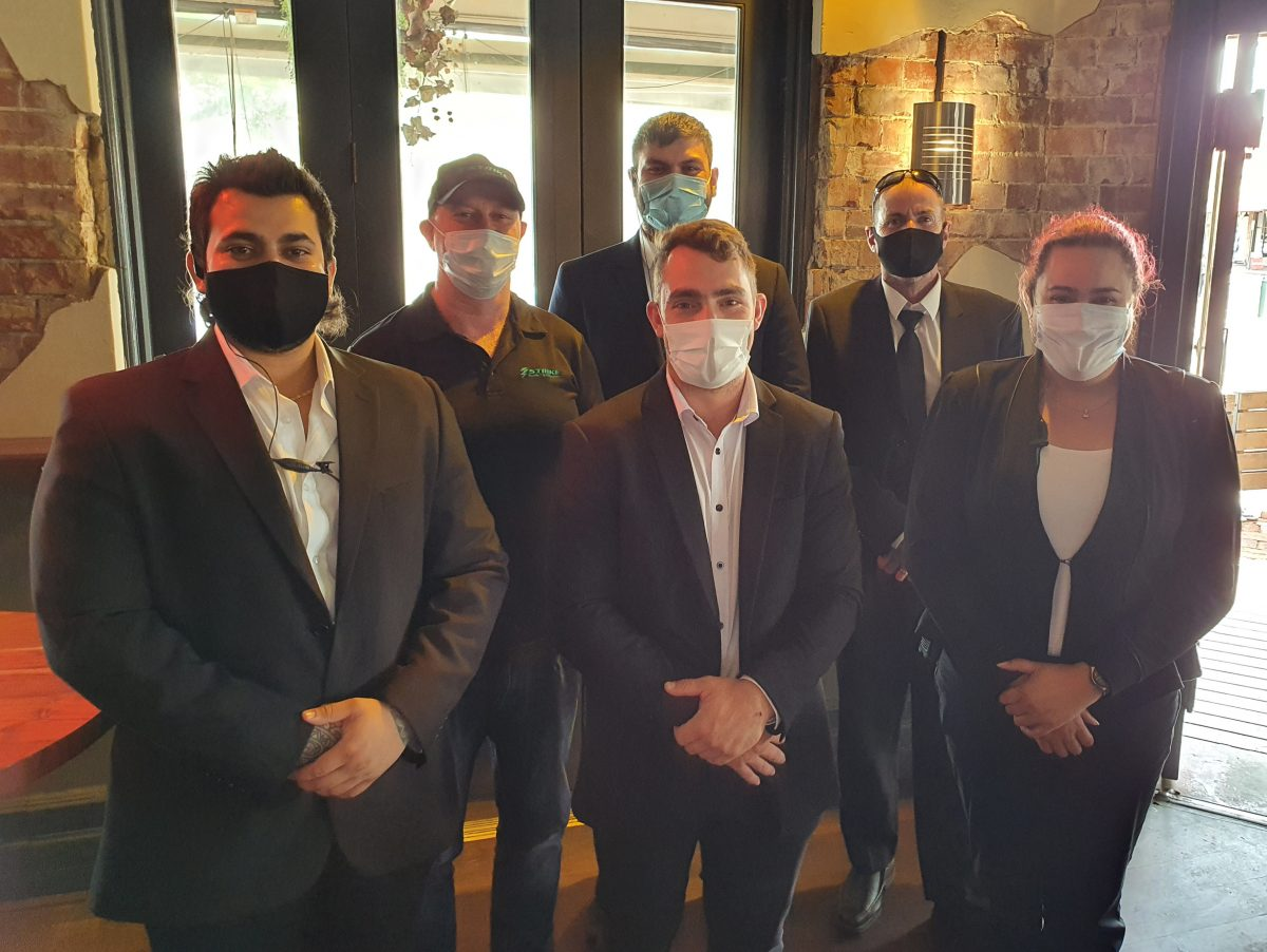 First Close Protection Operations for 2021